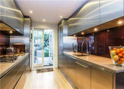 Bespoke Stainless Steel Kitchen London The Skipton Kitchen Company Design Installation