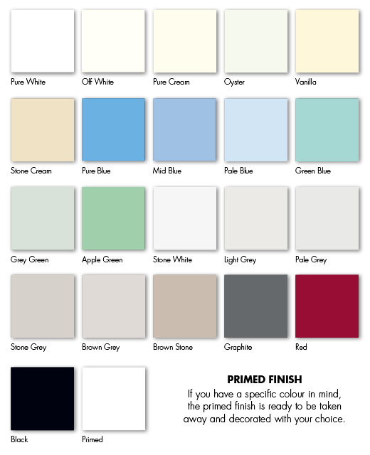 Crown matt the skipton kitchen company design for Paint charts for kitchens